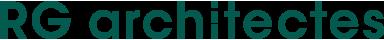 Architectes - Logo RG architectes