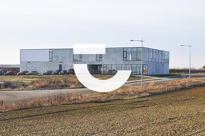 Projet d'architecture industrielle durable : PR-PRINT par RG architectes