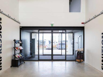 RG architectes | Entrée Bâtiment PR PRINT