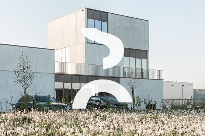 Construction entrepôt et bureaux à Nivelles : projet 2Perfection par RG architectes