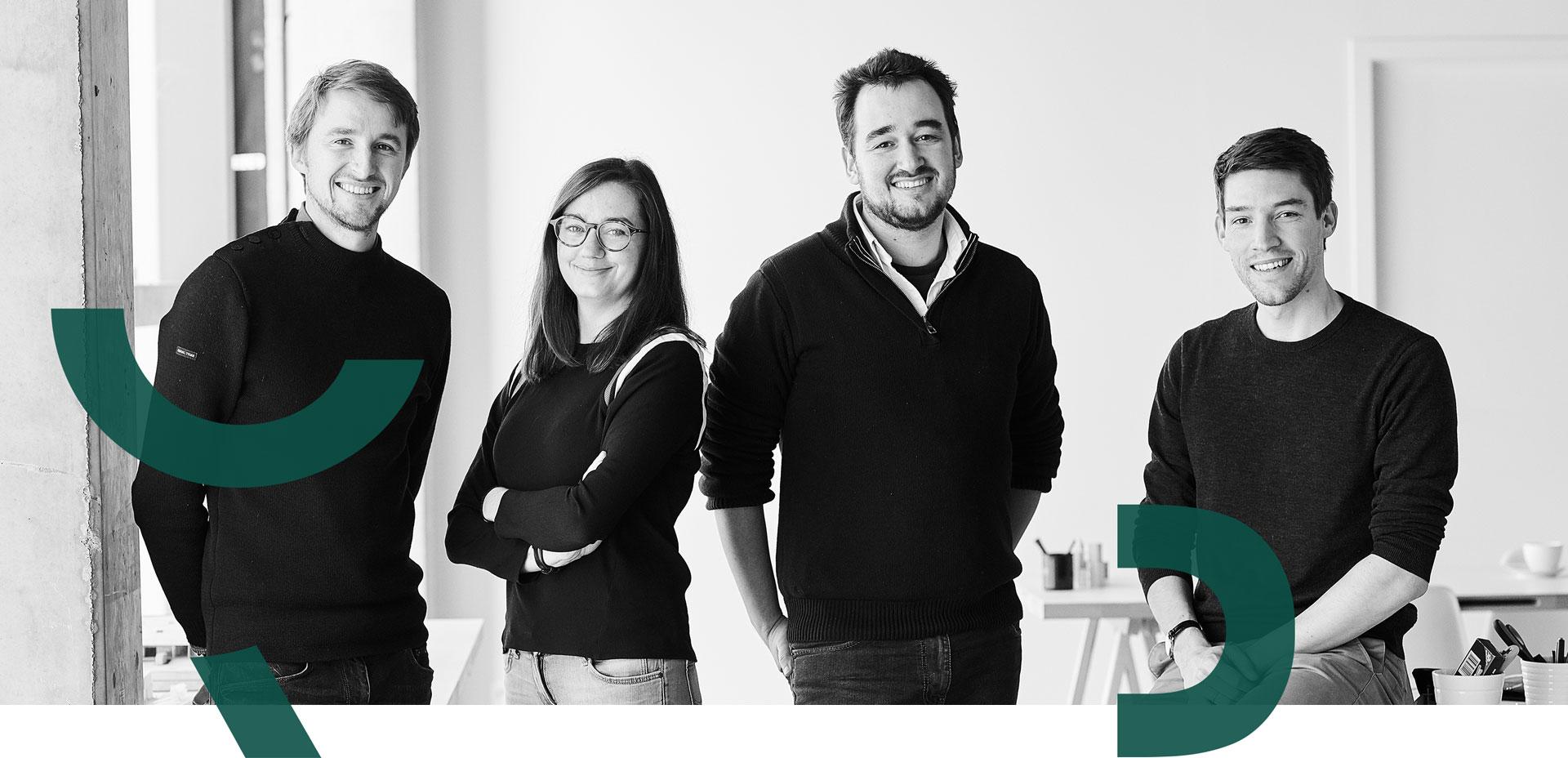 Equipe de RG Architectes bureau d'architecture à Nivelles