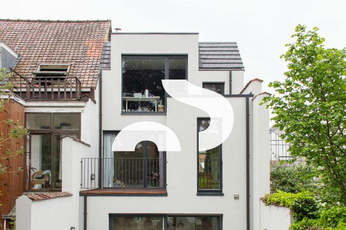 Rénovation d'une maison unifamiliale : projet Dieweg par RG architectes