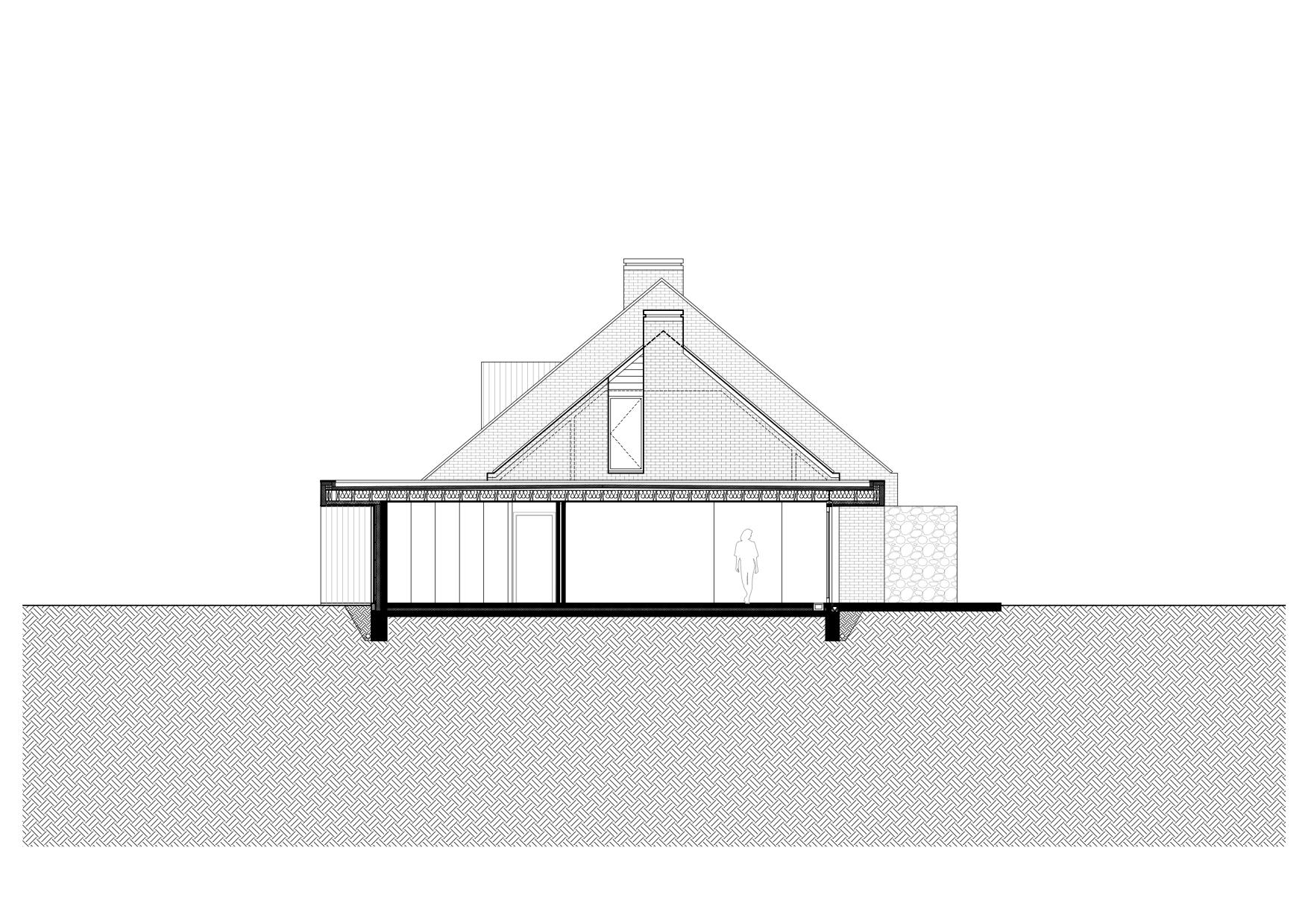 RG architectes | Plan extension Warchais