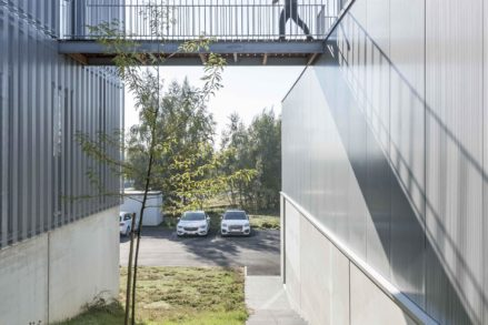 RG architectes | Passerelle Carrier Europe