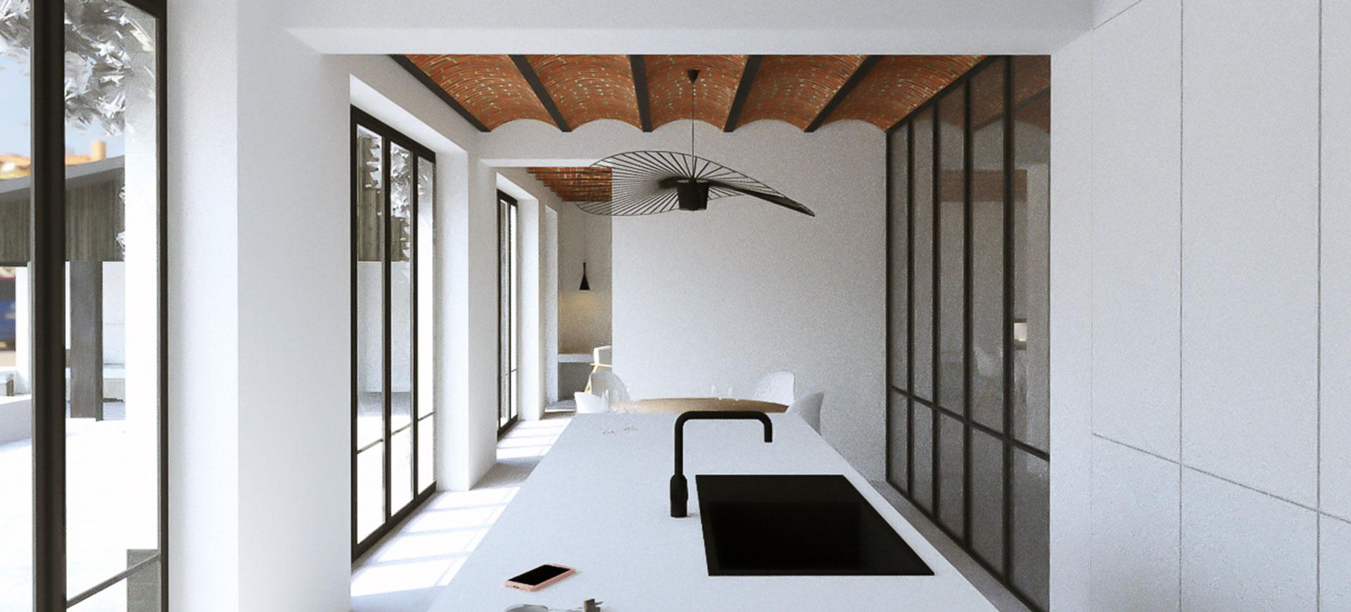 RG architectes | 3D intérieur SDA