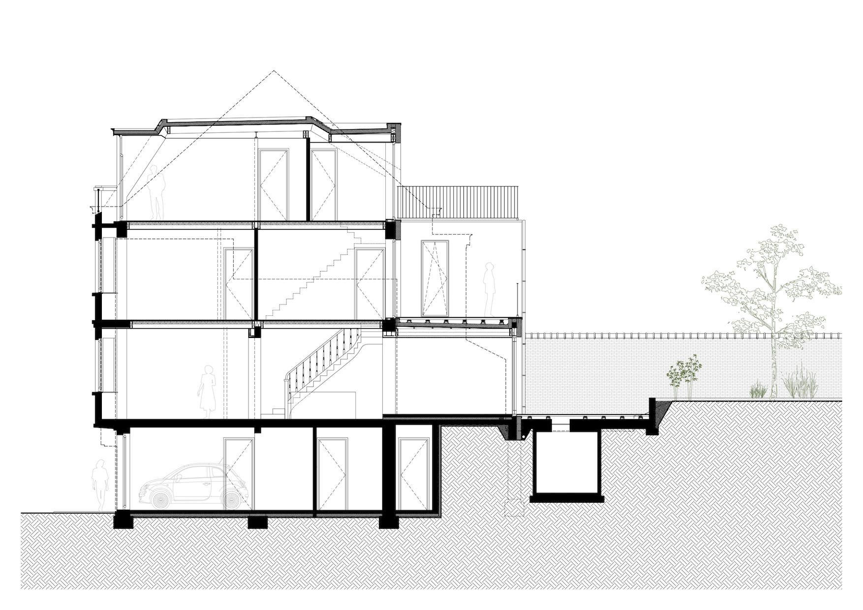 RG architectes   Plan Dieweg