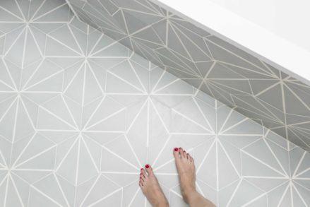RG architectes | Salle de bain carreaux de ciment