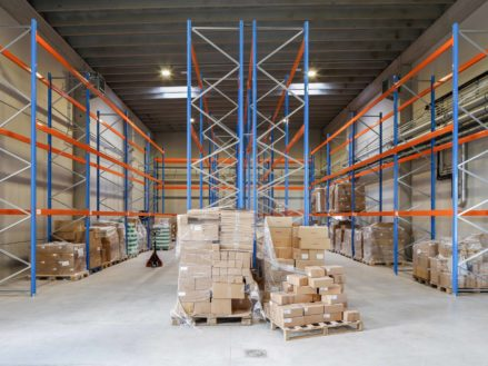 RG architectes | Entrepôt Provera