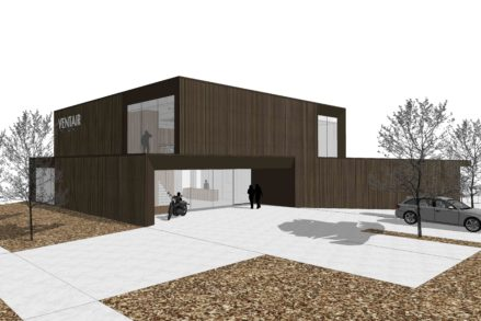 RG architectes   3D Ventair