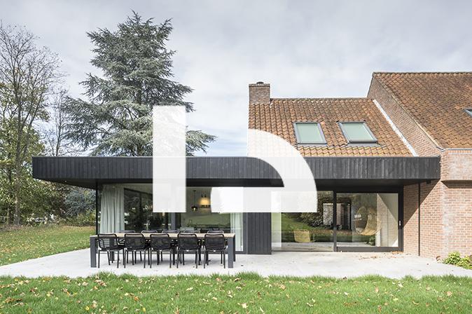 RG architectes   Extension maison Warchais