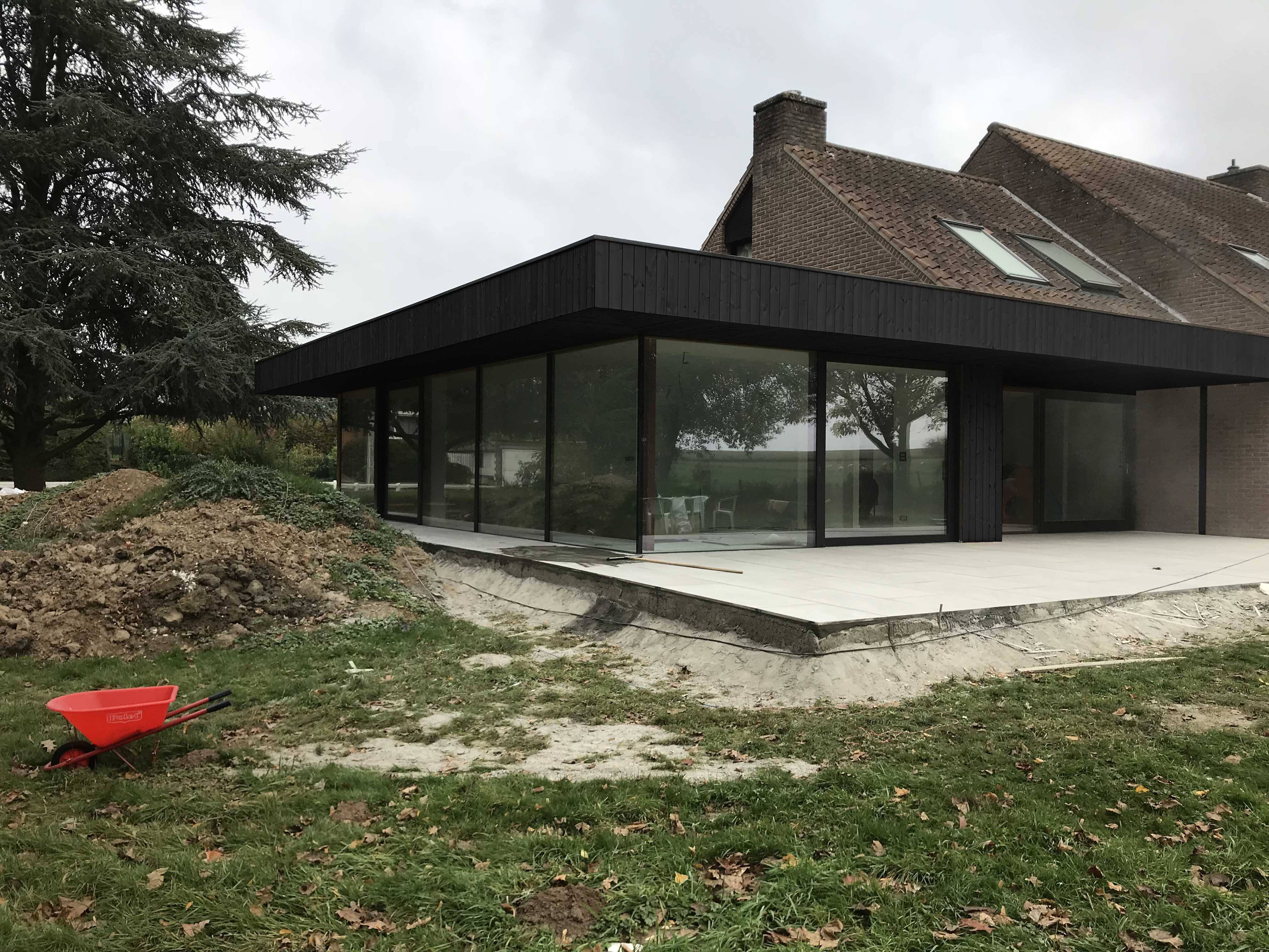 RG architectes | Extension maison Warchais