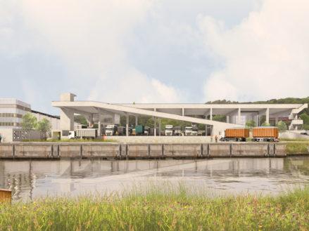 RG architectes | 3D Suez