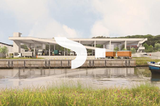 Projet de réaménagement Suez Belgium par RG architectes
