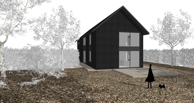 RG architectes | 3D extension maison unifamiliale Hollebeek