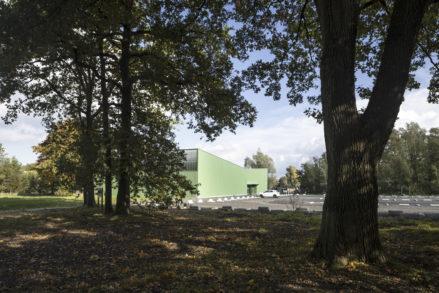 RG architectes - Construction trampoline park belgique