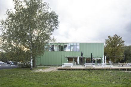 RG architectes - Construction salle de sport Belgique