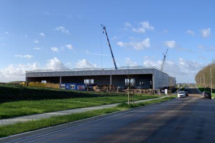 RG architectes | Luckx | Bureaux & hall industriel | Chantier