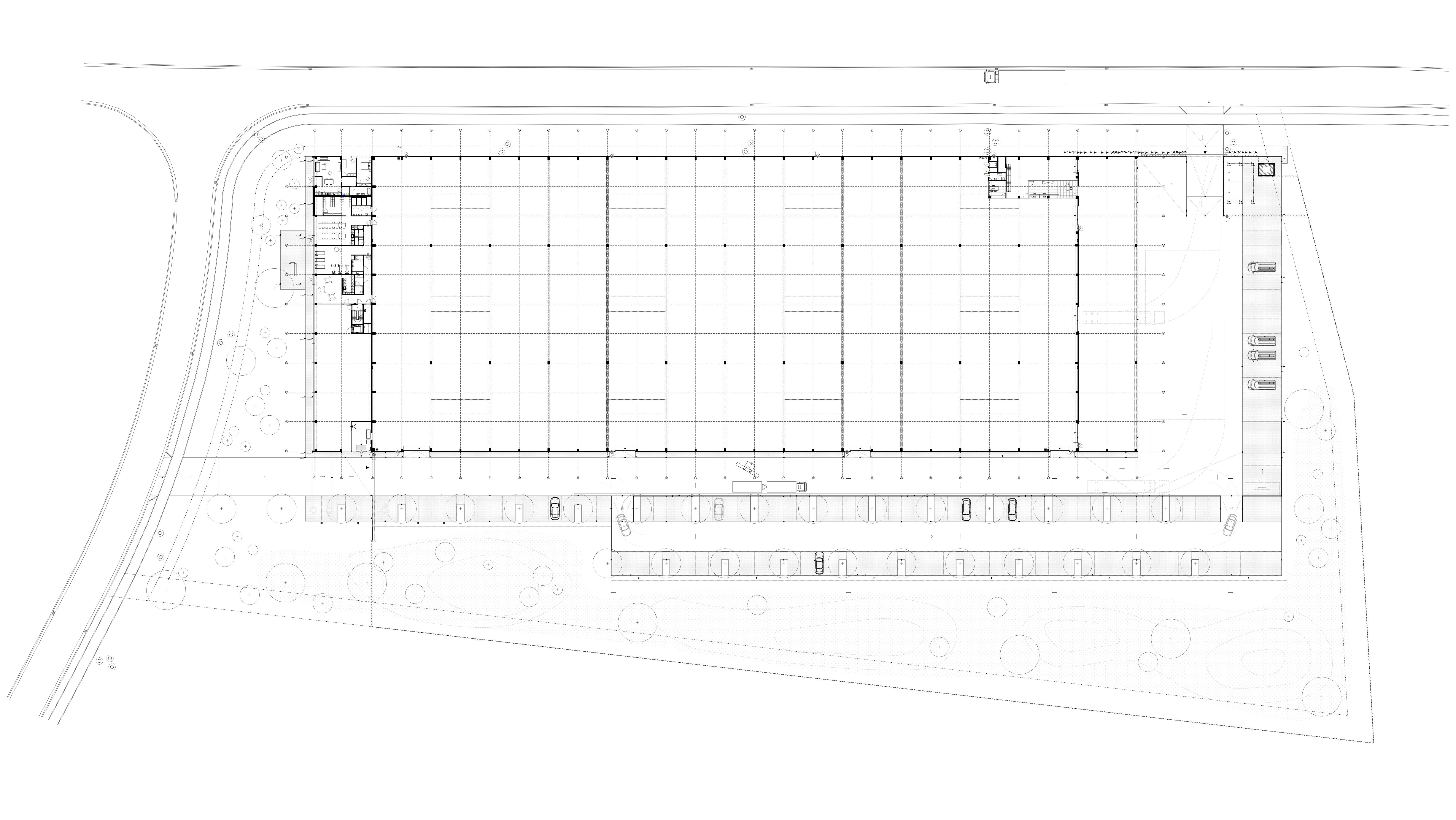 RG architectes | Luckx | Bureaux & hall industriel à Tubize Sainte II